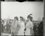 Distinguished spectators at the Harvard-Boston Aero Meet, September, 1910