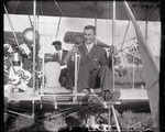 Harry Atwood in a Wright Model A Flyer at the Harvard-Boston Aero Meet, August - September, 1911