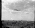 Two Wright Model A Flyers flying at the Harvard-Boston Aero Meet, August - September, 1911