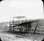 Pfitzner aircraft wreck at the Harvard-Boston Aero Meet, September, 1910