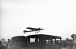 A Nieuport monoplane flying at the Harvard-Boston Aero Meet, August - September, 1911 by Anthony Philpott