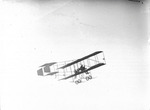 Claude Grahame-White and Anthony Philpott flying in a Farman biplane at the Harvard-Boston Aero Meet, September, 1910