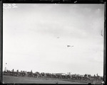 Claude Grahame-White and Walter R. Brookins flying at the Harvard-Boston Aero Meet, September, 1910