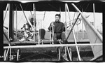 Charles Wald at the Controls of a Wright Model B Flyer, 1912