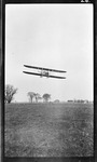 Arthur Welsh and Charles Wald Flying Over Huffman Prairie, 1912