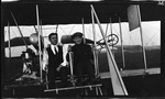 Charles Wald and Grover C. Bergdoll at the Controls of a Wright Model B Flyer, 1912
