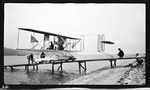 Wright Model B Hydroaeroplane on Launching Ramp at Glen Head, New York, September, 1912