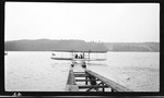 Wright Model B Hydroaeroplane Taxiing in the Water at Glen Head, New York, September, 1912