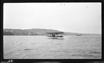 Wright Model B Hydroaeroplane Moving Across Water at Glen Head, New York, 1912