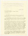 Letter, 1956 April 23, Fritz Marti to Virginia Massey