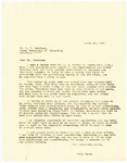 Letter, 1956 April 22, Fritz Marti to Mr. R. M. Garrison by Fritz Marti