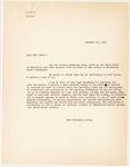 Copy of Letter, 1956 November 21, [Frtiz Marti] to Mrs. Mayne [Ruth D. Mayne)