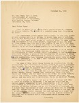 Letter, 1956 November 21, [Fritz Marti] to Father Ryan