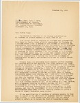 Letter, 1956 November 21, Fritz Marti to Father Ryan