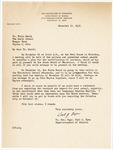 Letter, 1956 November 19, Carl J. Ryan to Dr. Fritz Marti