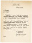 Letter, 1956 November 19, Carl J. Ryan to Dr. Fritz Marti
