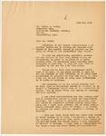 Letter, 1958 June 14, Fritz Marti to Hadley E. Watts