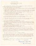 The Marti School Board Meeting Minutes October 7, 1959 by Joan W.C. Wood