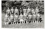 Boys' soccer team portrait