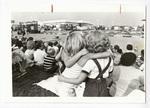 Children watching an event