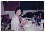 Staff at a desk