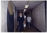 Staff in a hallway
