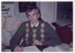 Peter Camm at a desk