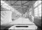 Cloth Cutting Department at the Wright Company Factory