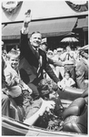 Neil Armstrong in Homecoming Parade by Dayton Daily News
