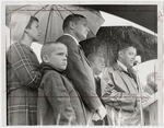 Neil Armstrong at Airport Dedication by Journal Herald