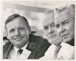 Neil Armstrong, Bob Hope, and Jim Rhodes by Walt Kleins