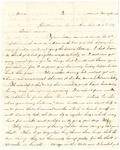 Letter, 1864 August 4, James F. Overholser to Aunt [Mary Burns] by James F. Overholser