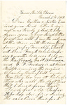 Letter, 1864 March 9, William A. Burns to Brother and Sister [James C. and Mary Burns]