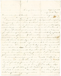 Letter, 1865 April 23, James Overholser to Aunt and Uncle [Mary and Crib Burns] by James F. Overholser