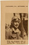 The Last Photograph taken of Maj. Raoul Lufbery, the late American Ace