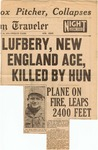 Lufbery, New England Ace, Killed By Hun