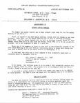 News Bulletin - August-September, 1953