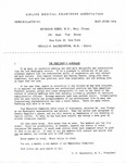 News Bulletin - May-June, 1954 by Civil Aviation Medical Association