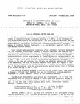 News Bulletin - January-February, 1956 by Civil Aviation Medical Association