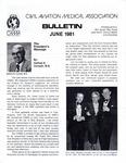 Bulletin - June, 1981