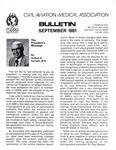 Bulletin - September, 1981