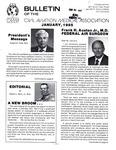 Bulletin - January, 1985