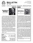 Bulletin - July, 1985