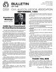 Bulletin - September, 1985