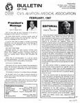 Bulletin - February, 1987
