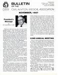 Bulletin - November, 1987
