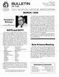Bulletin - March, 1988
