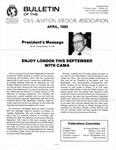 Bulletin - April, 1989 by Civil Aviation Medical Association