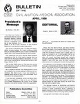 Bulletin - April, 1990 by Civil Aviation Medical Association