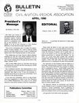 Bulletin - April, 1990